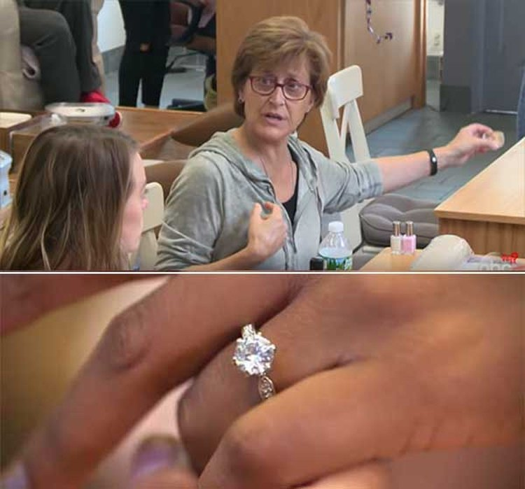 What Would You Do If You Saw an Engagement Ring Being Swiped at a Nail Salon?