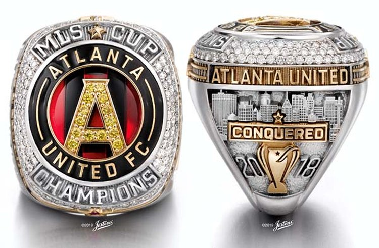 Gem-Encrusted Ring Tells the Story of Atlanta United's Championship Soccer Season